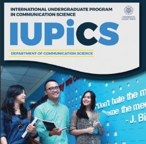 Prospectus IUP Department of Communication Studies Fisipol UGM